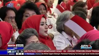 Ribuan Istri Purnawirawan TNI/Polri Dukung Jokowi-Ma'ruf Amin