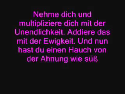 best liebes gedicht ever - youtube