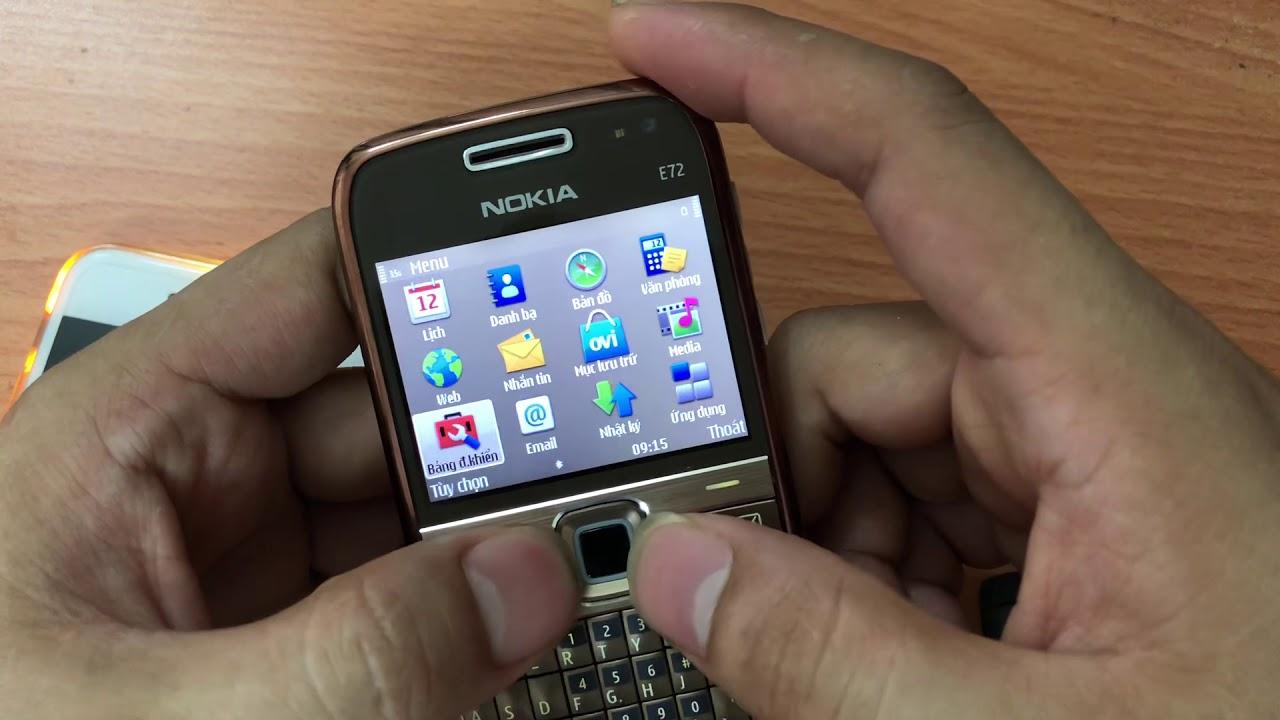 Chuyện chưa Kể :  Tất cả chức năng của máy Nokia E72