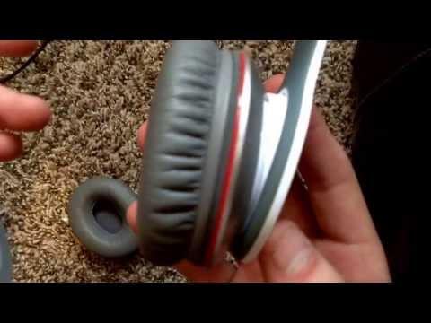 How to put earmuffs on beats solo