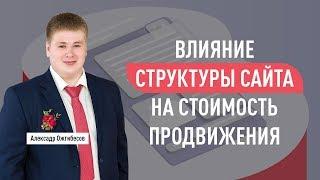 Влияние структуры сайта на стоимость продвижения сайта (цена SEO). Александр Ожгибесов