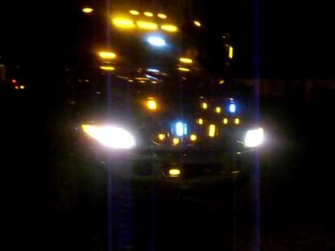 Flatbed Tow Truck >> tow truck light show-AMATRANS- - YouTube