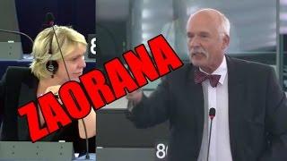 Janusz Korwin-Mikke w PE: