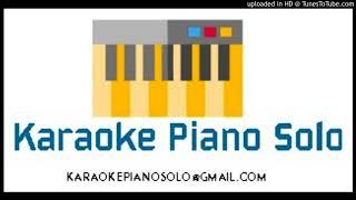 Mi soledad y yo (Alejandro Sanz) - Karaoke piano solo