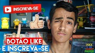 COMO COLOCAR BOTÃO DE LIKE E INSCREVA-SE! thumbnail