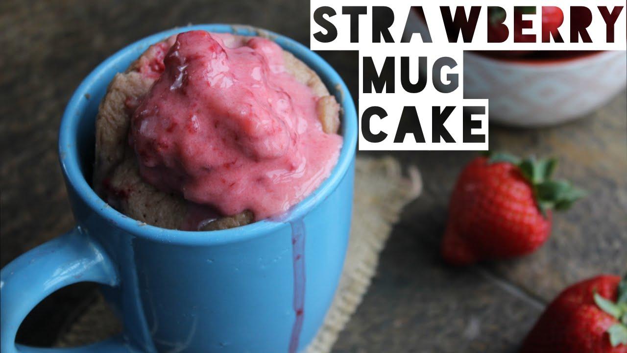 Healthy Mug Cake Recipe | How To Make A Healthy Low Fat ...