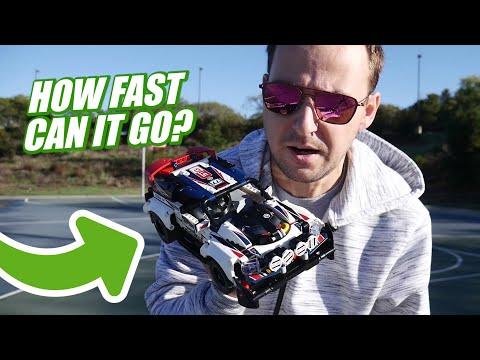 LEGO Technic Top Gear Car SPEED TEST