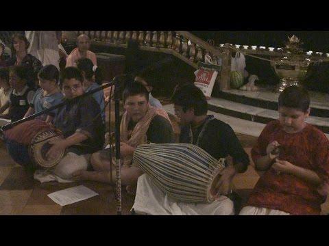 2014 Radhastami - 2/3 - TKG Academy Bhajan - Radhika Stava
