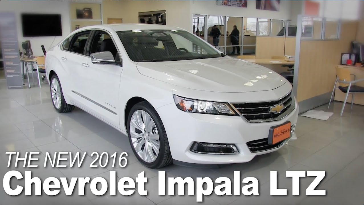New 2016 Chevrolet Impala Lakeville, Bloomington, Burnsville ...
