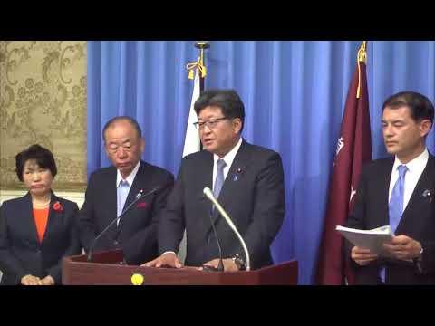「野党の中には、北朝鮮に通じてる方たちもいらっしゃる可能性を否定できない」萩生田光一