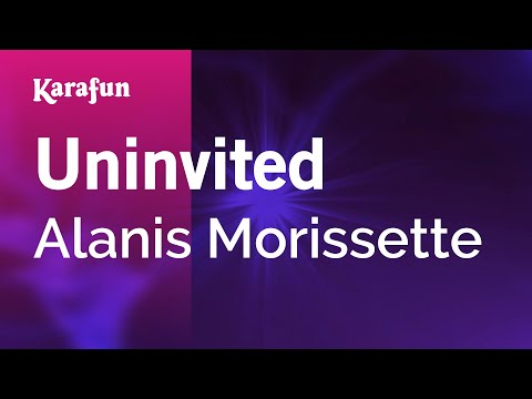 Karaoke Uninvited  Alanis Morissette *
