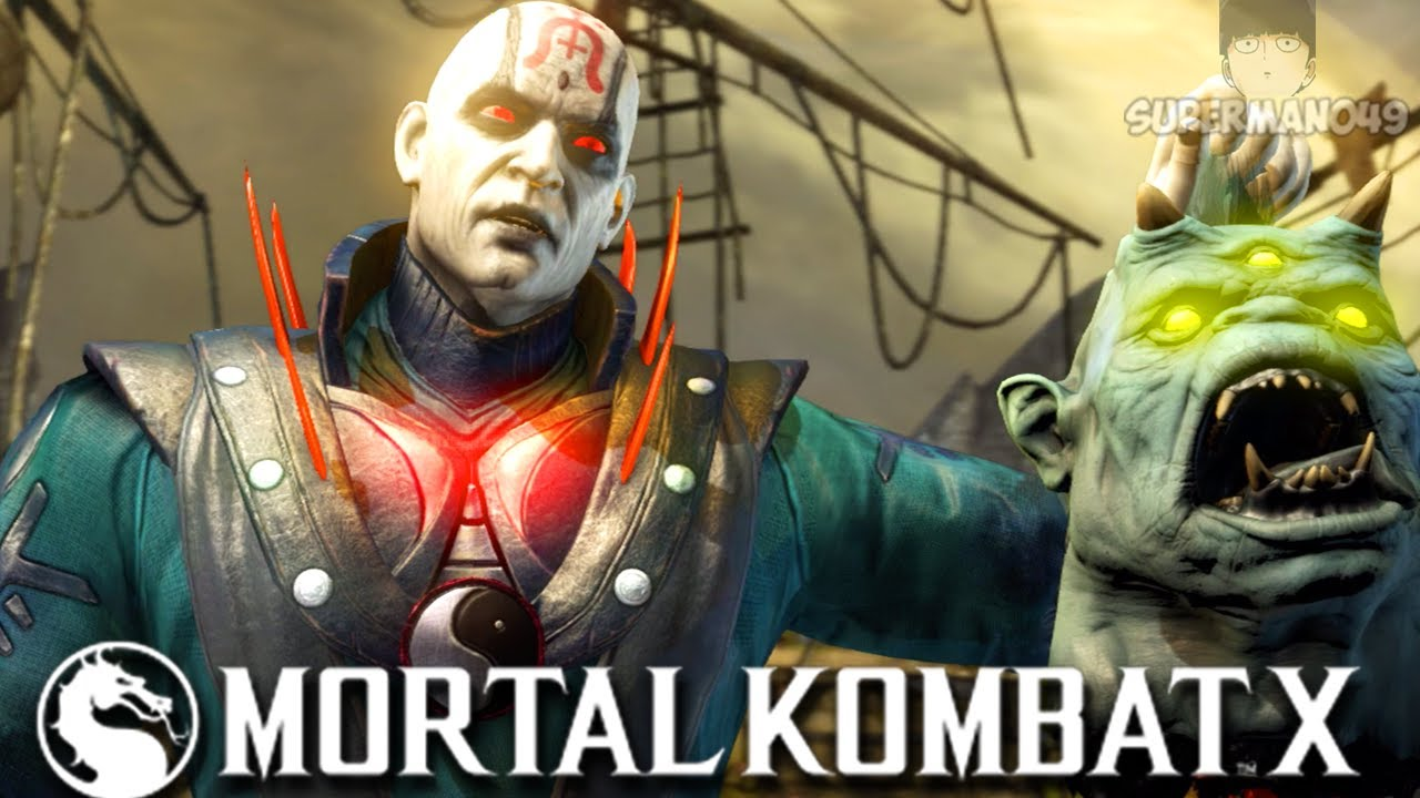 "The Most Broken Glass Canon In MKX! - Mortal Kombat X: ""Quan Chi"" Gameplay"