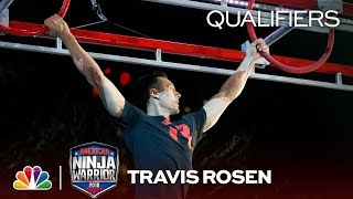 Travis Rosen at the Indianapolis City Qualifiers - American Ninja Warrior 2018