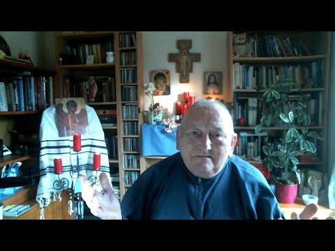 Feb: 18th Monday:  Br Sean Dedicates Morning Prayers 4 Br Barry's reception into Tau as a Postulant