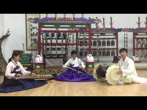Sinawi for Trio (gayageum, haegeum and janggo)