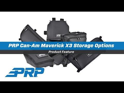 PRP Can-Am Maverick X3 Storage Options - YouTube