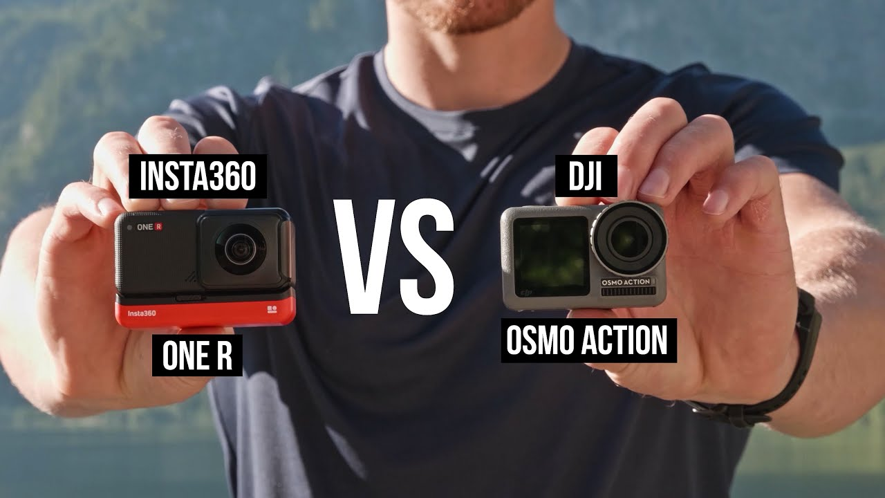 Insta360 ONE R vs OSMO ACTION