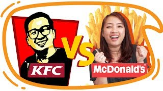 Download Video KFC vs McD !! Mari Kita Bandingkan ! MP3 3GP MP4