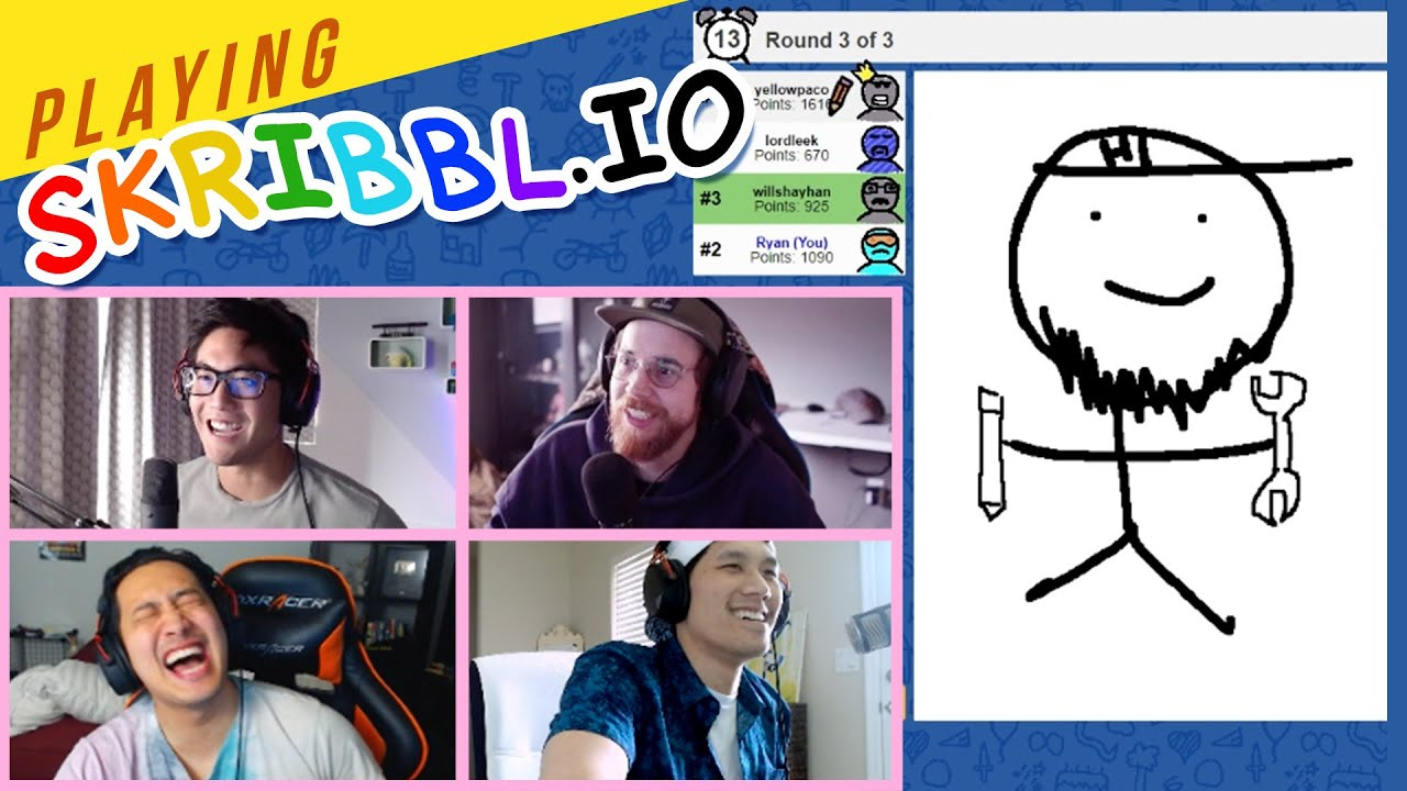 Download Playing Skribbl.io!