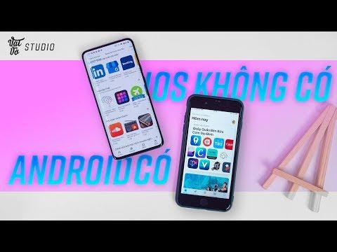 5 ứng dụng trên Android mà iOS KHÔNG CÓ