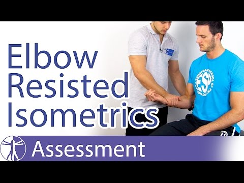 Resisted Isometric Testing: Elbow