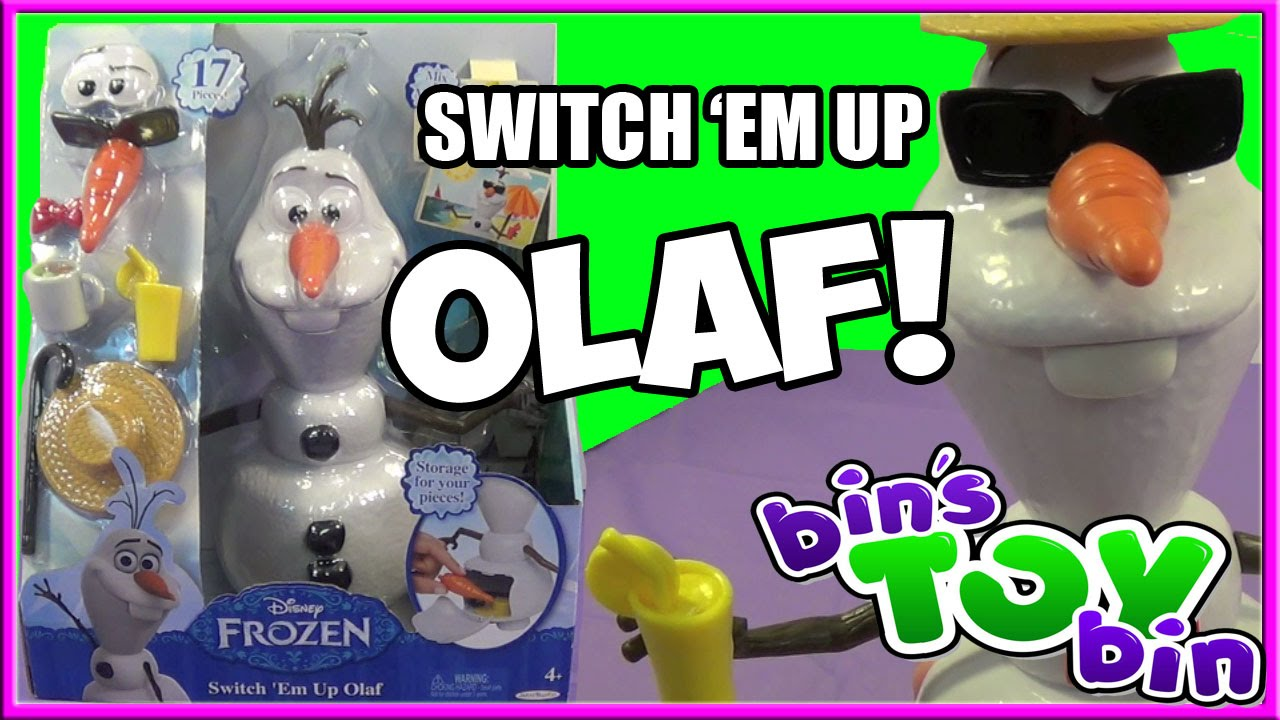 Switch It Up Toys : Switch em up olaf fun disney frozen toy review by bin s