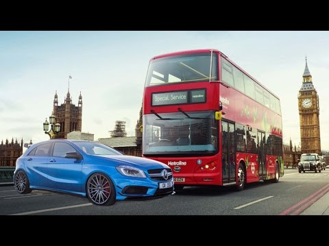 A45 AMG vs London Public Transport
