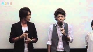 『タナトス』初日舞台挨拶 (関連記事はこちら) http://www.moviecolle...