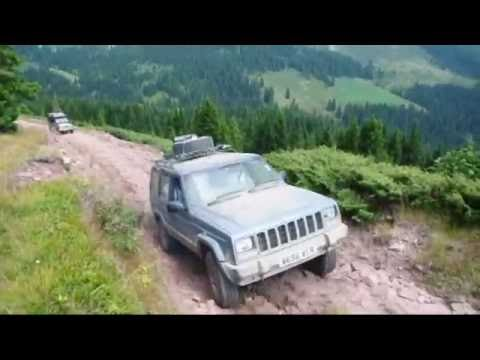 Serbia Overland adventure tour 2016 - Landrover, Jeep, Toyota