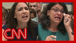 Ocasio-Cortez, Tlaib grow emotional while testifying on border visit
