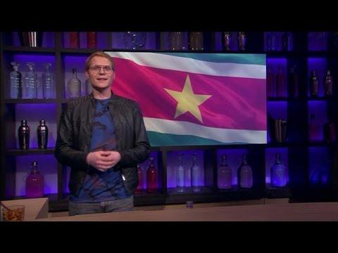 Luuk Feliciteert Suriname - RTL LATE NIGHT