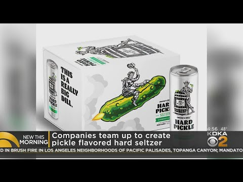 Companies-Team-Up-To-Create-Pickle-Flavored-Hard-Seltzer