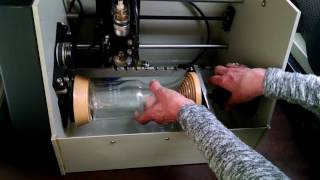 Vision cylindrical engraver part 2