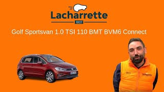 🔥 Présentation Golf Sportsvan 1.0 TSI 110 BMT BVM6 Connect de 2018 et 5500 Kms  vo23742
