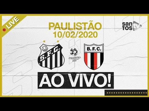 AO VIVO: SANTOS 2 x 0 BOTAFOGO-SP | PRÉ-JOGO E NARRAÇÃO | PAULISTÃO (10/02/20)