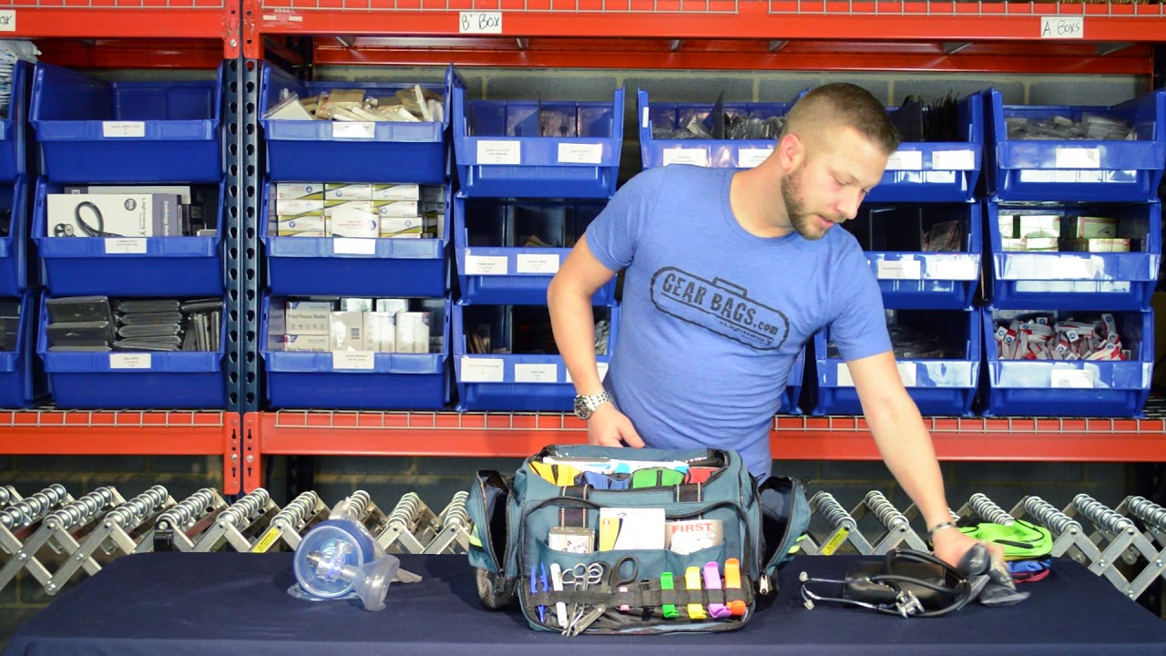 Lightning X Warehouse Series How To Stock Your Emt Bag Lxmb35 By Gearbags