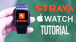 How to Use Strava for the Apple Watch | Strava Guide | Best Apple Watch Running App screenshot 3