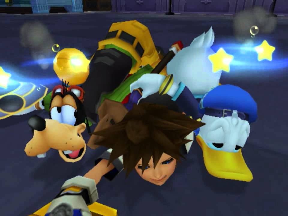 Image result for kingdom hearts donald and goofy