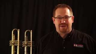 Bach TR-300H2 Trumpet vs. LJ Hutchen #4218 Trumpet Comparison and Review thumbnail