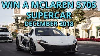 WIN TheStradMan Mclaren 570s Supercar Giveaway