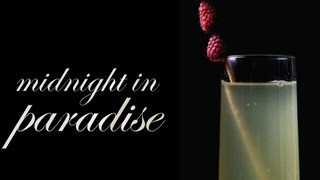 Midnight In Paradise Cocktail - The Hot Plate