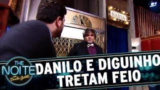 Diguinho e Danilo tretam no ínicio do programa | The Noite (23/11/17)
