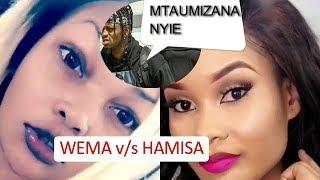 UGOMVI WA KUFA MTU! Wema Amtwanga Vibaya Hamisa Kwa Maneno Haya, Diamond Apagawa