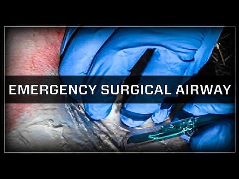 emergency surgical airway cricothyroidotomy youtube
