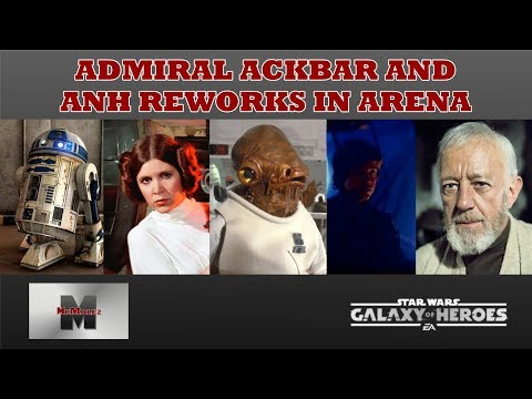 Ackbar Lead is Viable again thanks to the ANH Reworks