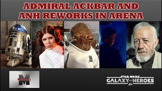 Showing how awesome Ackbar is again as a leader with all of these n...
