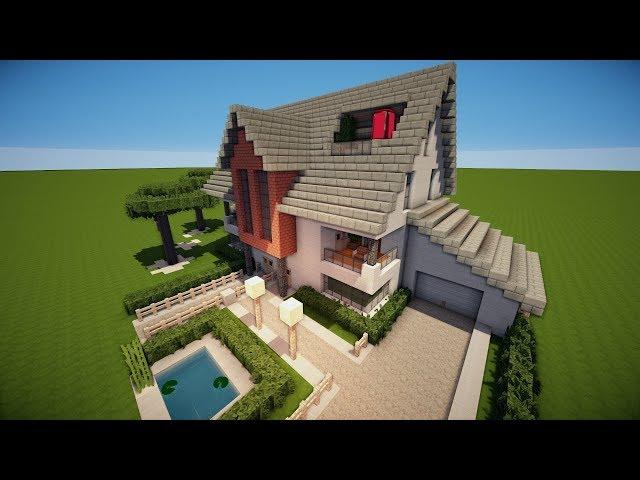Dummer Junge Minecraft Haus Bauen Modern YouTubeVideosio - Minecraft haus bauen modern