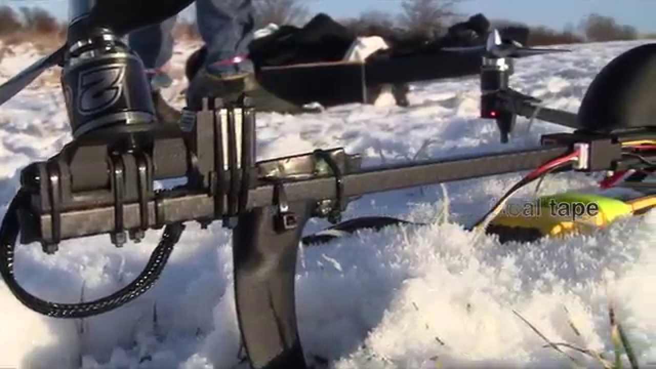 & RCExplorer Tricopter V3 - Winter Edition - YouTube