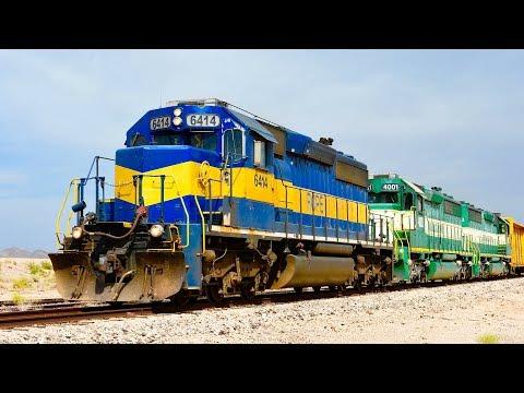 Arizona & California Railroad Freight Train