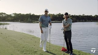 Rory McIlroy VS. Tommy Fleetwood Water Skipping CHALLENGE | TaylorMade Golf